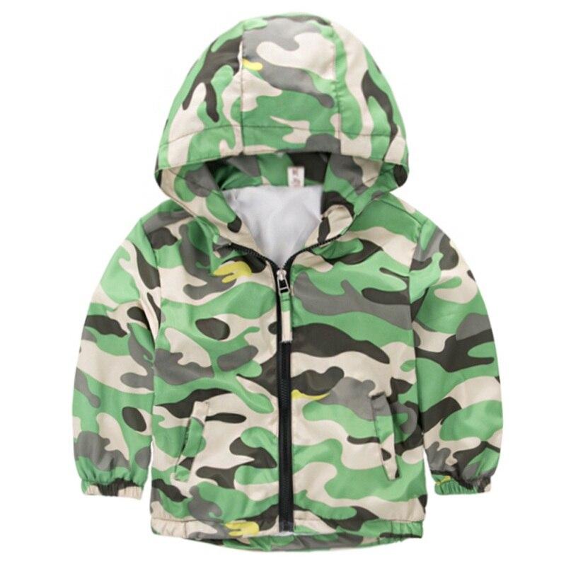 Модная одежда для детей, Детская мода пальто для мальчиков и девочек куртка с капюшоном мультфильм Граффити ветровка осень Детская верхняя ...