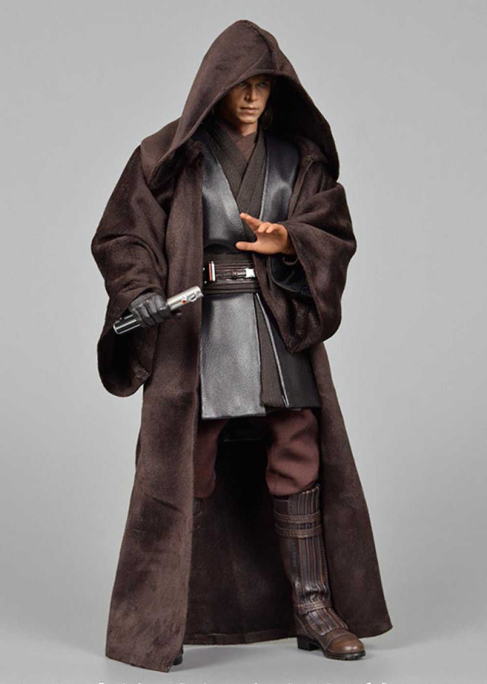 """1/6 Scale อัพเกรดรุ่นที่กำหนดเองเสื้อคลุม Fit 12 """"HT Anakin Figure รุ่น 12"""" Action Figure Body ชายรูปของเล่น"""