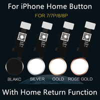 For iPhone 7 8 Universal Home Button Flex With Cable Return Home Function For iPhone 7 Plus 8Plus