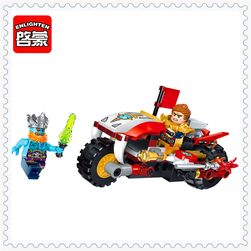 цены на ENLIGHTEN 2202 Creation Basaltic Whistled Cruise Car Building Block 116Pcs Educational  Toys For Children Compatible Legoe в интернет-магазинах
