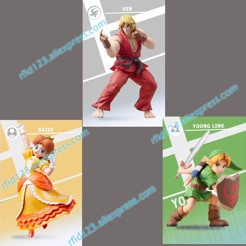 3 New NFC Amiibo Card for Super Smash Bro.3 New NFC Amiibo Card for Super Smash Bro.