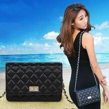 Women Quilted Bag Chain Leather Bag Crossbody Handbag Women's Brand Bags Sheepskin Genuine Leather Bags