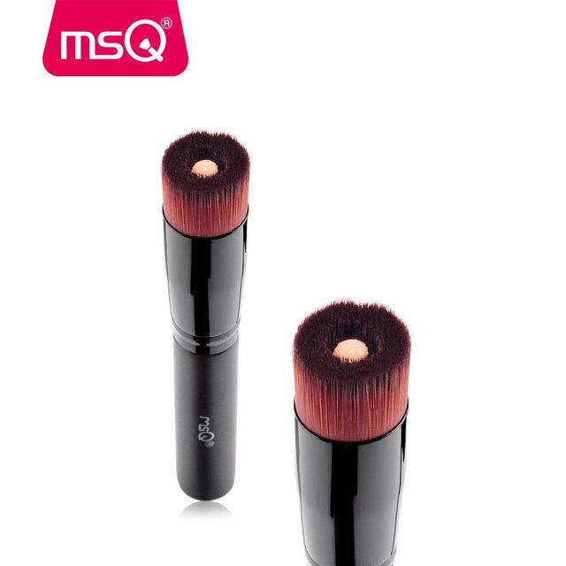 MSQ Sombra Em Pó Foundation Líquido Maquiagem Oval Escova Professinal Pincéis de Maquiagem Set Face Make up Ferramenta de Beleza Cosméticos