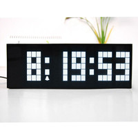 Europe Led Clocks Timer Electronic Desktop Clock Weather Calendars Large Digital Led Wall Clock Snooze Function