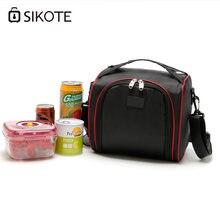 Sikote портативная дорожная сумка для хранения плотная обедов