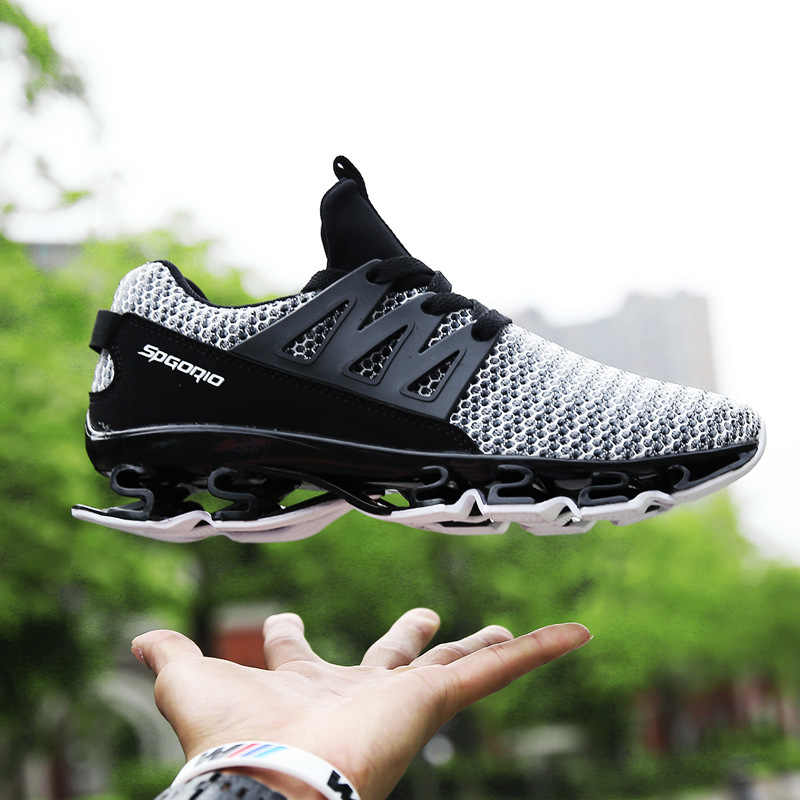 great fit 6f535 c8e0b Mens Shoes Casual Summer Breathable Mesh Sneakers Fashion Black White  Lace-Up Basketball Shoes Male
