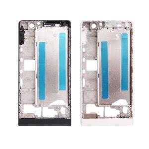 Image 2 - Voor Huawei Ascend P6 P7 P10 Behuizing Midden Frame Bezel Midden Plate Cover vervangende onderdelen voor Huawei P6 P7 P10 met Gereedschap
