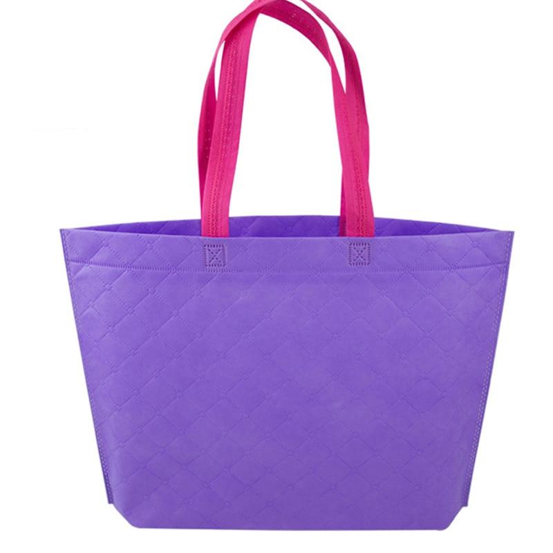 Wholesale Portable Foldable Supermarket Shopping Bag Eco-friendly Resuable Grocery Bags Travel Handbags