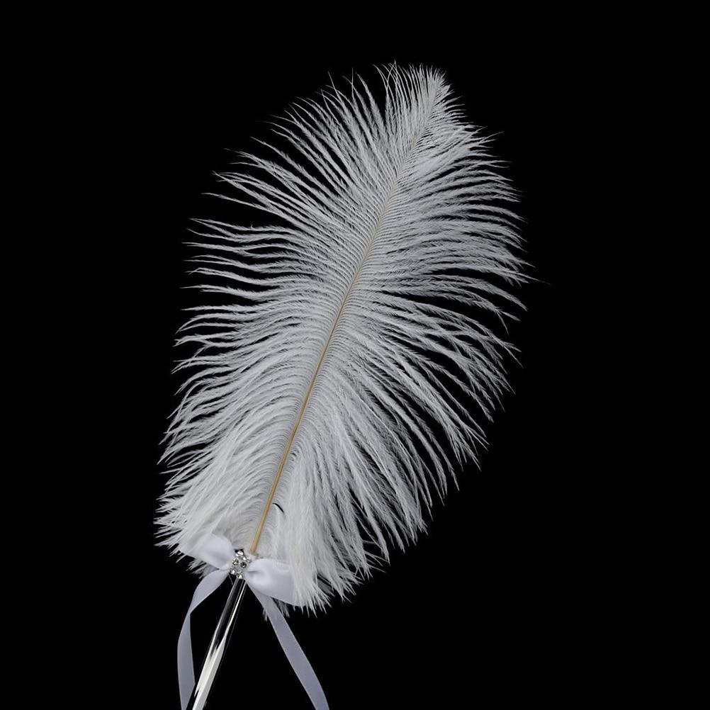 Stylo de signature en plume blanche avec ensemble de stylos de - Pour les vacances et les fêtes - Photo 6