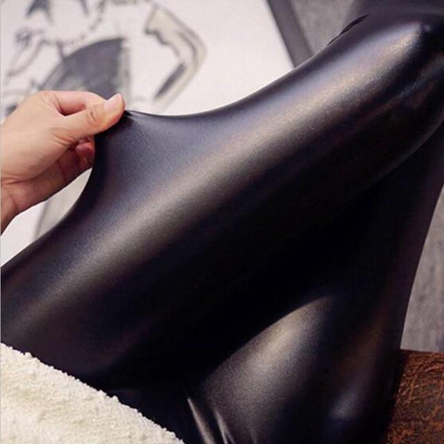 d0f690d1adb8e 2016 lady push up slim leggings fashion new style hot shine legging girl  black leggings summer autumn large size fitness pant