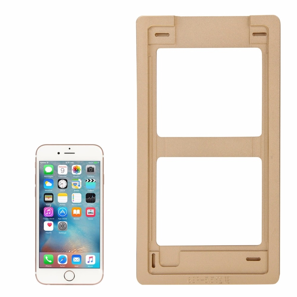 Aluminium Alloy Precision Screen Refurbishment Mould Molds for iPhone 6s Plus LCD and Touch Panel image