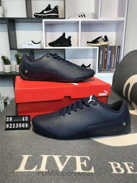 e131ecfc51c 2018 Chegada Nova Original Puma Futuro Gato de Couro Sapatilha dos homens  Sapatos Badminton Size39-