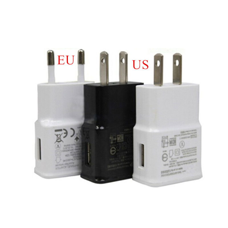 Universal 5V 1A EU Plug Usb Home Travel Wall AC Charger Adapter For iPhone 5s 6 Samsung Galaxy S6 S4 S3 Note 2 3 Phone Charging