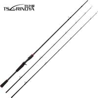 Tsurinoya PLEASURE V 2.13m 2.43m 2 Tips M ML Power Fishing Rod Sic Guide Ring Bass Carbon Lure Rod Spinning Casting Fish Rod