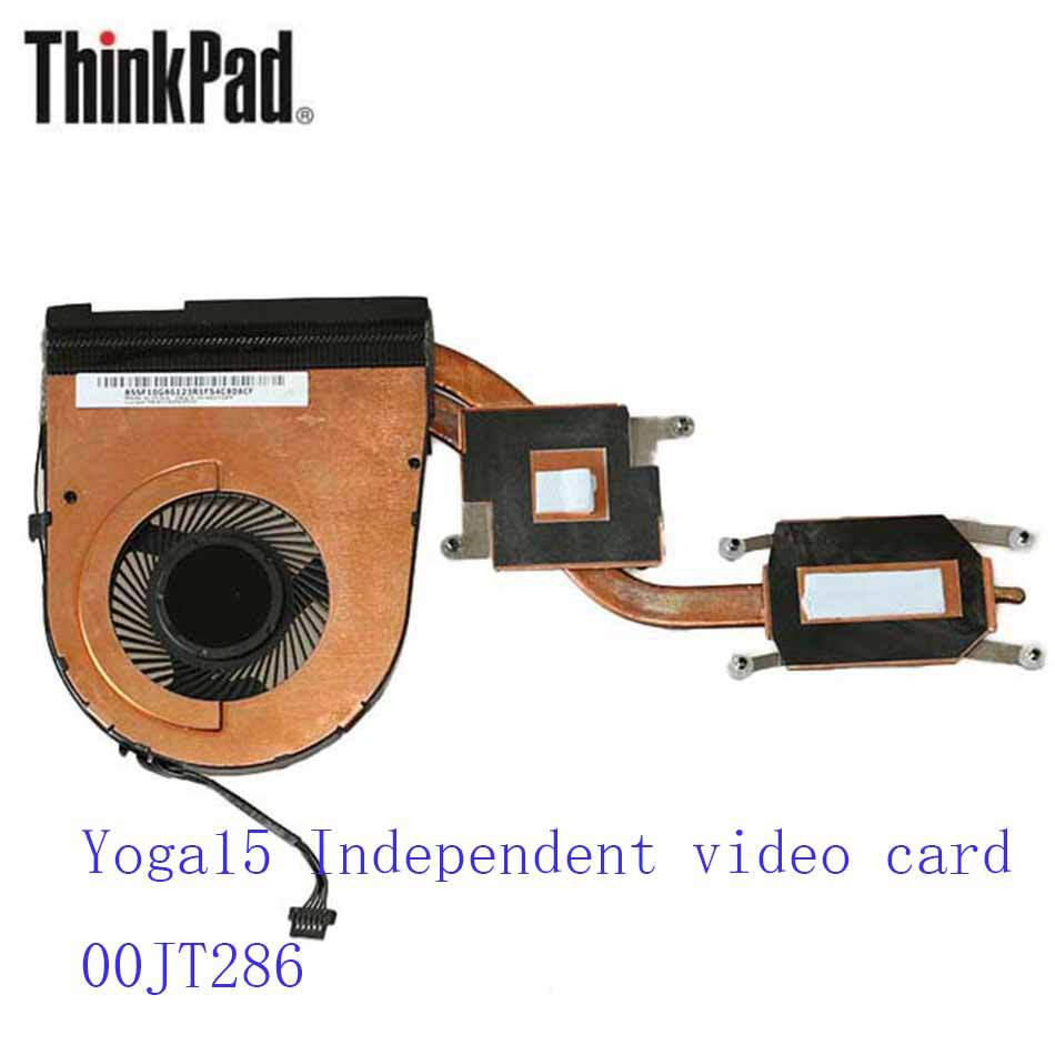 New Original Cooling Fan For Lenovo ThinkPad Yoga15 Independent video card 00JT286 Cooler Radiator Cooling Fan Heatsink & Fan original fan ac220 240v 6c 230absl cooling fan
