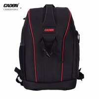 Caden Waterproof DSLR Digital Camera Bag Case Shockproof Photography Padded Large Capacity Travel Backpack For Canon