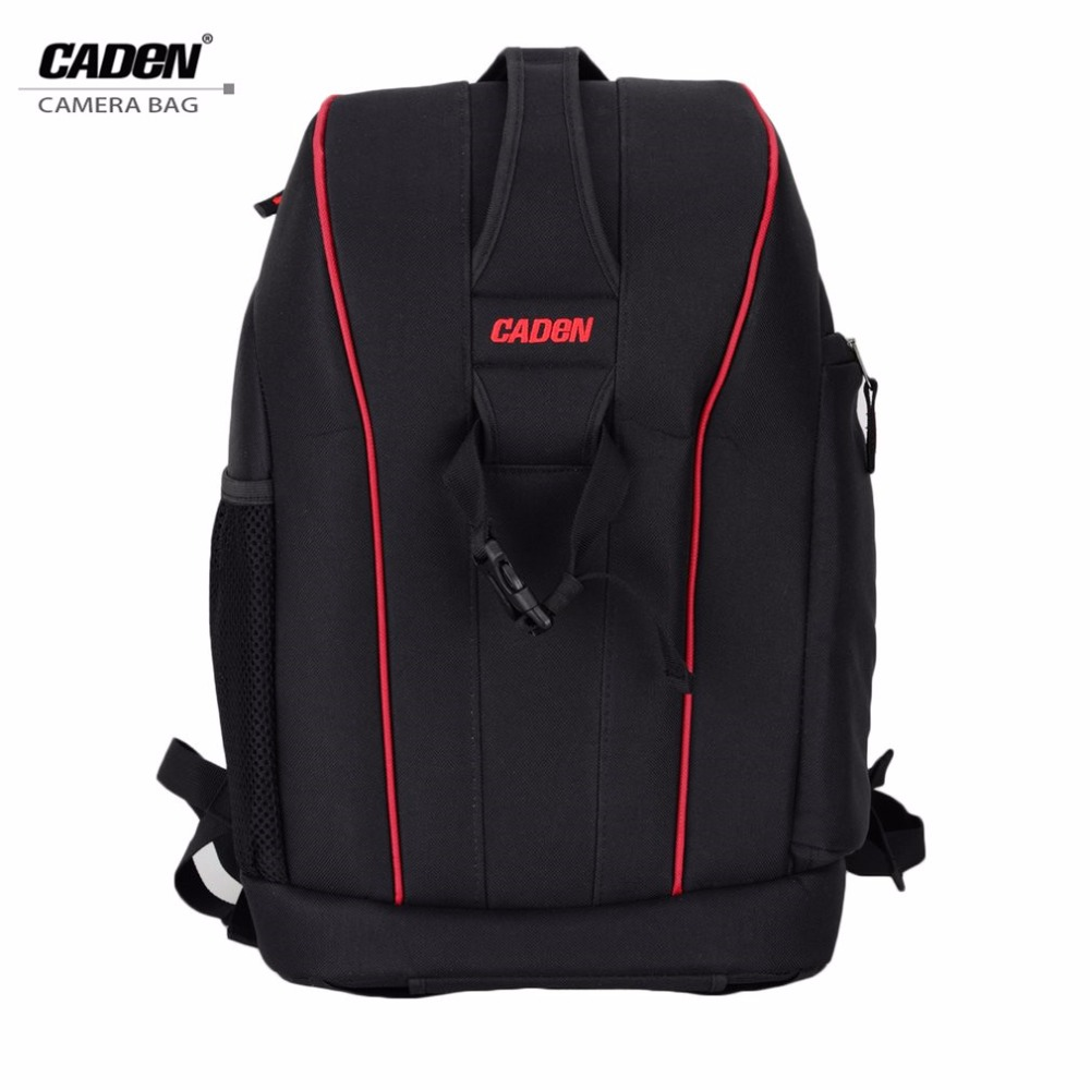 Caden Waterproof DSLR Digital Camera Bag Case Shockproof Photography Padded Large Capacity Travel Backpack for Canon Nikon camera bags professional waterproof shockproof digital slr dslr camera bag soft padded backpack suitable for canon for nikon