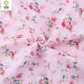 Rose Floral Cotton Fabric Meter DIY Tilda Fabric Textiles Sewing Patchwork Fabric For Patchwork Baby Clothes Quilting 50X160CM