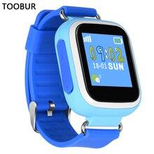 Toobur Smart Baby Uhr Q80 GPS Tracker Smartwatch für IOS Android Smartphone