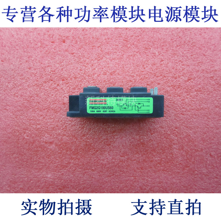 FMG2G100US60 100A600V 2 unit IGBT module