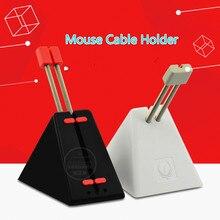 חדש מקורי מוקד משחקי עכבר כבל בעל מאוס כבל קליפ חוט קו ארגונית מחזיק אבזר מושלם עבור משחקים