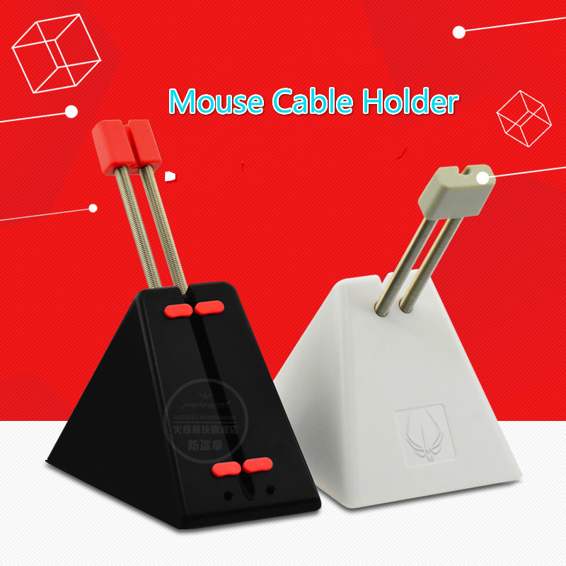 New Original Hotline Games Mouse Cable Holder Mouse Bungee Cord Clip Wire Line Organizer Holder Perfect Accessory For Gaming