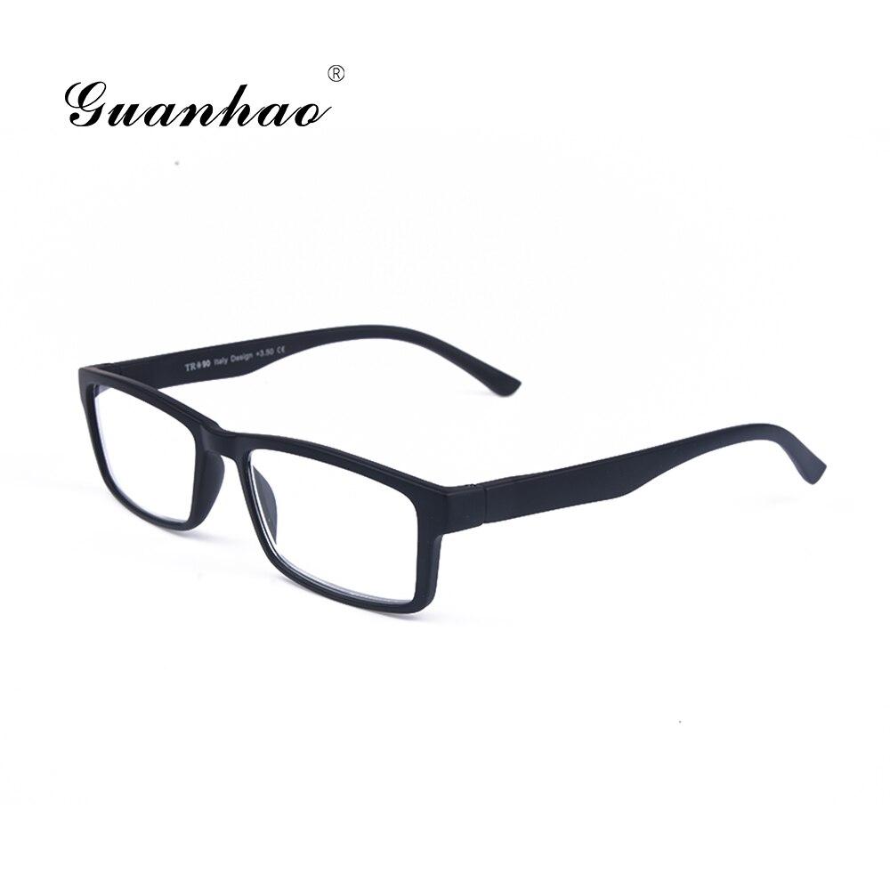 Guanhao Ultralight Kırılmaz Unisex Okuma Gözlüğü Adam Kadın Tr90