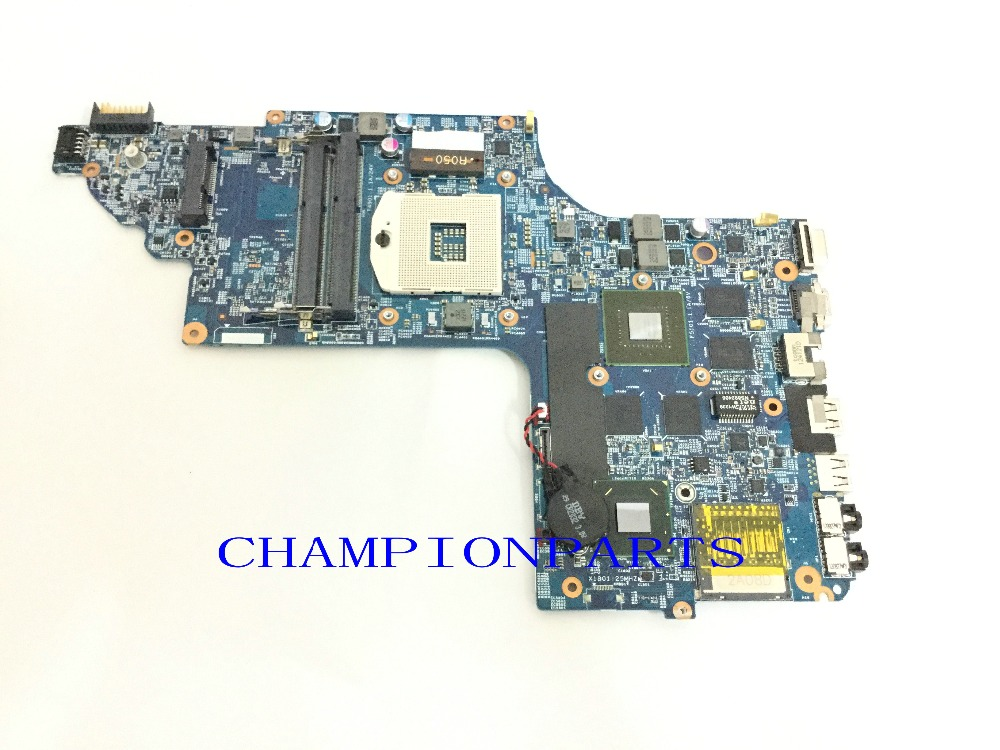 ORDER NEW Free Shipping 682174-001 Laptop Motherboard  For HP PAVILION DV6 DV6T DV6-7000 NOTEBOOK PC VIDEO CHIP 650M/2GB free shipping ems 48 4st10 031 681999 001 laptop motherboard for hp pavilion dv7 notebook pc