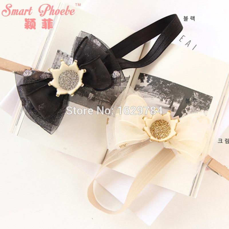 10pcs Modni bleščice 3D Gemstone Tiaras Dekleta Hairbands Solid Lep - Oblačilni dodatki - Fotografija 2