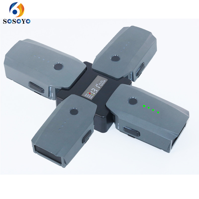Посмотреть зарядка на четыре батарей mavik шнур type c spark по низкой цене