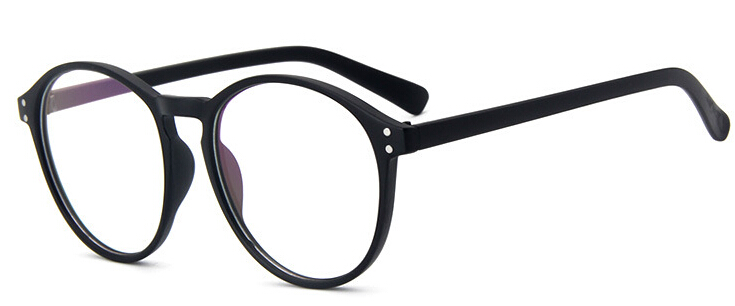 8f6acc432b8 Fashion Black round glasses clear frame Women Spectacle myopia glasses 2018  Men EyeGlasses Frame nerd optical frames clear-in Eyewear Frames from  Apparel ...