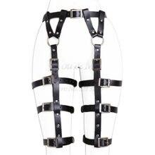 Mulheres Cinto Cintos de Ligas Sexy Bondage Arnês de Corpo Correia Do Punk faixa Da Cintura Para Suspender Tiras de Perna Ajustável Para Adultos Do Sexo brinquedos