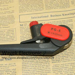 Image 3 - PG 5 سكين سلك كابل متجرد الطولي تجريد بالاتصالات/pvc/lv/mv cablesmax 25 ملليمتر