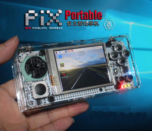 Gaming-Device Battery Game-Module Screen Retropie Raspberry Pi Handheld Lakka 4000ma