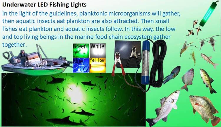 underwater LED fishing lights 2