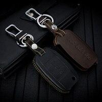 ABAIWAI Genuine Leather Car Key Covers for KIA K3 Sorento K4 K5 KX3 Sportage QL KX5 Case Remote Holder Bag Auto Accessory Parts