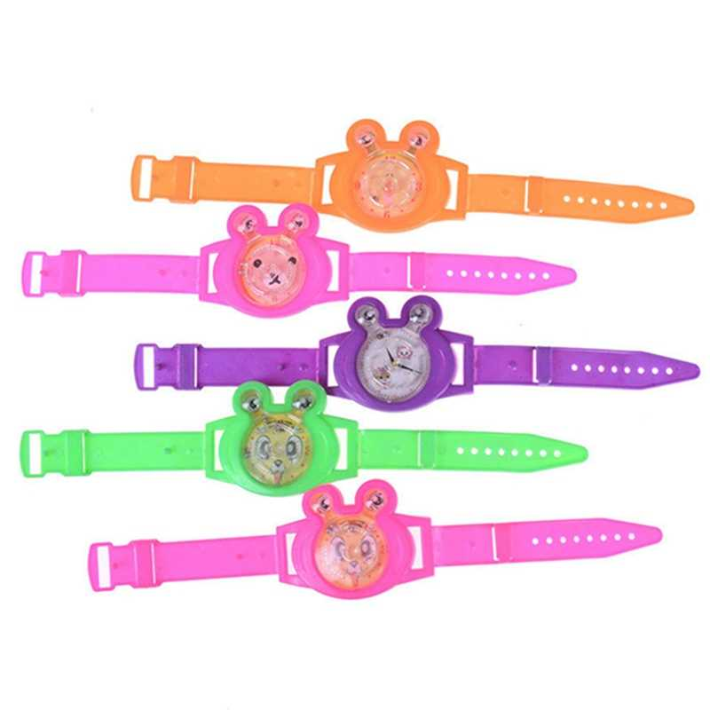 2 Pcs Color Random Baby Game Watch Fake Watch Toy Kids Birthday Favor Gift Baby Shower Souvenirs Toy