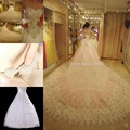 2016 Luxuries Bridal Gown Ball Gown Crystal Sequins Cathedral Train Tulle women wedding Dresses + Shoes of style2 +Petticoat