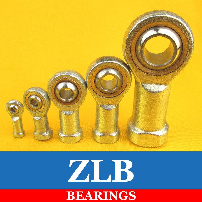 2pcs 8mm Female Threaded Rod End Joint Bearing SI8T/K PHSA8 free shipping 2pcs 14mm female threaded rod end joint bearing si14t k phsa14
