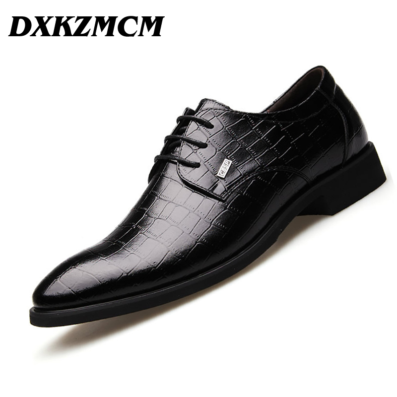 DXKZMCM Handmade Men dress shoes, brown black leather Men oxford shoes Men Flats Formal Shoes protect защитная пленка для samsung galaxy j1 2016 sm j120 матовая