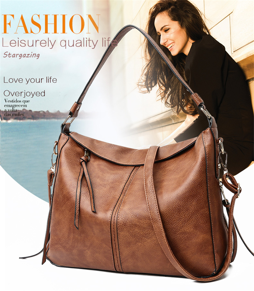 luxury handbags women shoulder bag large tote bags hobo soft leather ladies  crossbody messenger bag for women 2018 Sac a Main 04fd37d7cc944