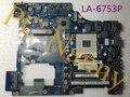 Placa G570 originales PIWG2 LA-6753P Para Lenovo G570AH-ITH Hm65 no Integrados con Buena Calidad