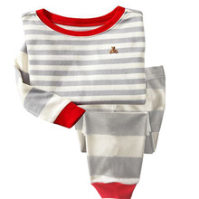 Animal Printed Pajamas for Boys and Girls 2 pcs Set