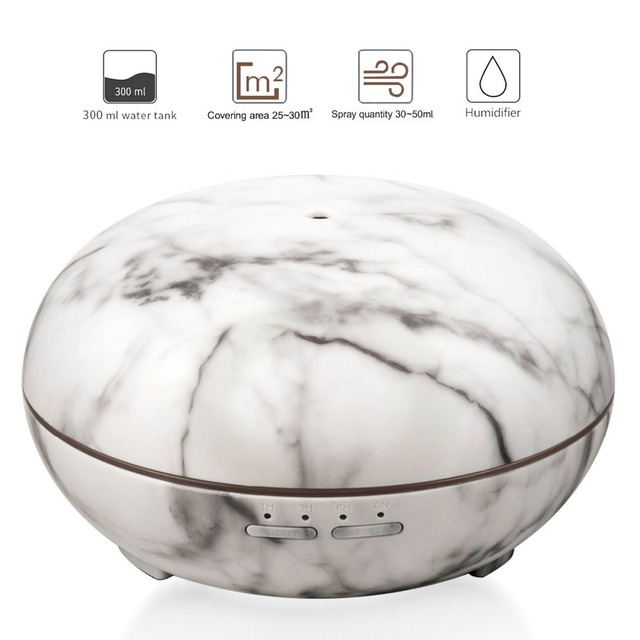 7 Color Changing Aromatherapy Round Air Humidifier