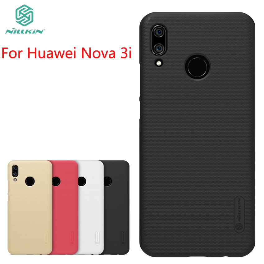 For Huawei Nova 3i /p smart plus Case Cover NILLKIN Pc Hard Case For Huawei Nova 3i Fitted Cases Super Frosted Shield 6.3''
