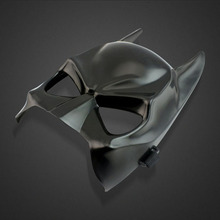 10pcs/lot Halloween Crazy PVC Black Panther Mask Super Hero Hulk/US Captain/Iron Man/Spiderman/Batman Costumes
