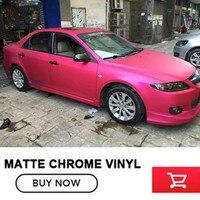 OPLARE High Quality Rose Matte Satin Red Metallic Vinyl Film Rose Satin Metal Car Wrap Air