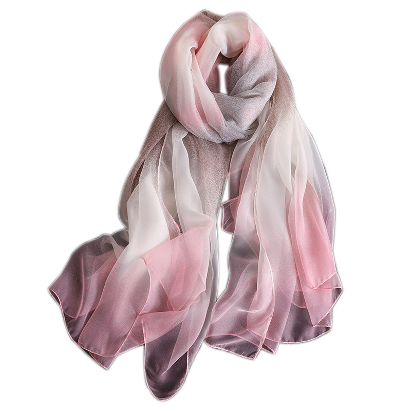 2019 designer brand women scarf fashion print silk scarves for lady shawls and wraps luxury hijabs scarfs foulard neck echarpe in Women 39 s Scarves from Apparel Accessories