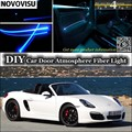 Нововису для Porsche Boxster 986 987 981  комнатный светильник  атмосферный волоконно-оптический светильник s  подсветка внутренней двери
