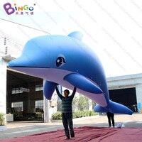 Персональный 20 футов Длина гигантский надувной ПВХ Дельфин/6 м длинный воздушный плотный надувной Дельфин плавающий в небе игрушки